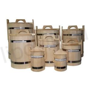 Кадки для меда из липы