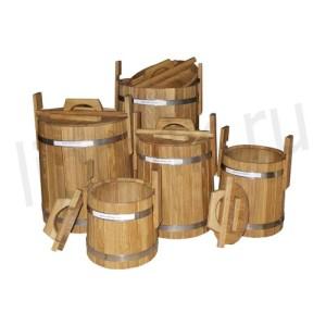 Кадки дубовые для засолки